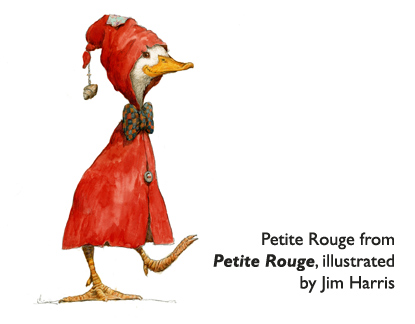 'Petite Rouge'  The famous little red duck…  who can give you a few tips about dealing with Cajun gators!