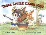 Jim Harris' gives advice for students from The Three Little Cajun Pigs – tips on illustrating a picture book using visual rhythm and diagonal lines in artwork.