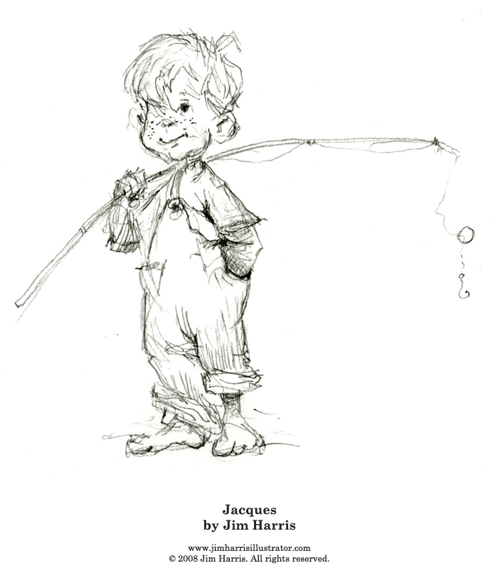 Jack and the Beanstalk Coloring Page – Jacques (the Hero)