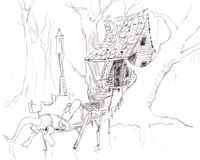 Animal Coloring Pages from Jim Harris Picture Book Sketches